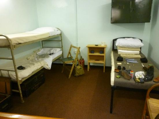 Royal Air Force Scampton Museum: 1916 and 1940 Bunks