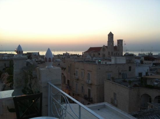 San Martin Hotel : vista su Giovinazzo dalla terrazza