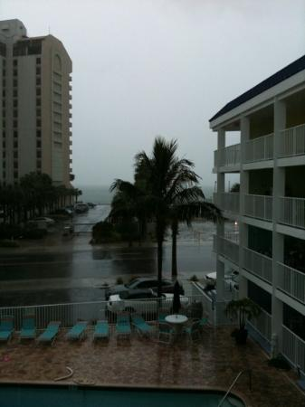 Pelican Pointe Hotel and Resort: this was my gulf view from 322.