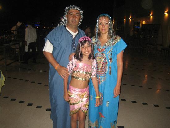 Concorde Moreen Beach Resort & Spa Marsa Alam: Serata Egiziana