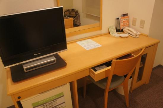 Izumo Green Hotel Morris: 部屋の様子