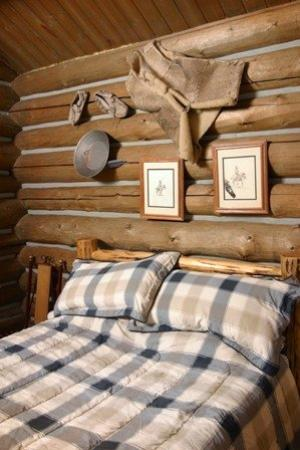 Rye Creek Lodge: Granite Cabin Bedroom Jpg
