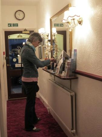 Athenaeum Lodge: Hotel reception