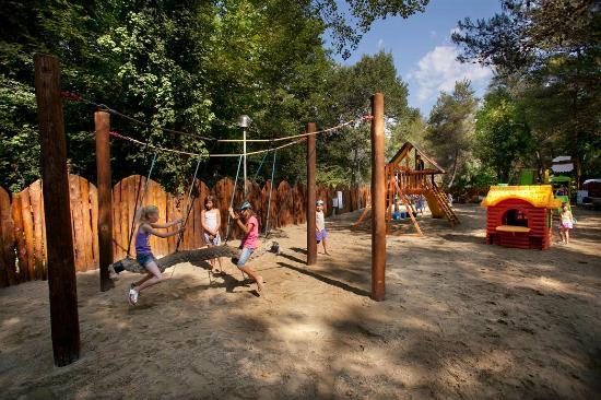 Camping Village Le Pianacce: parco giochi/playground