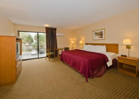 Quality Inn Busch Gardens: King Bed Room