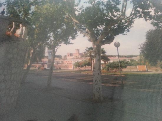 Medina del Campo, Spain: Castillo desde el Cuartel RACA 41 Marques de la Ensenada