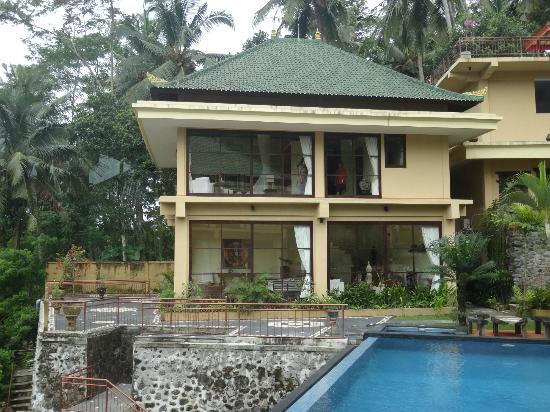 Villa Selat: DESDE NUESTRA HABITACION