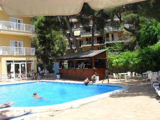 Paradise Beach Music Hotel: basen hotelowy