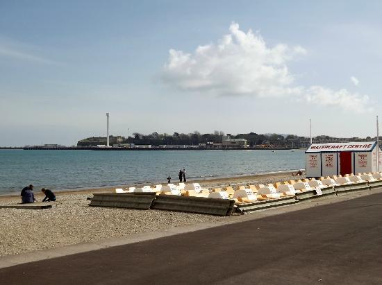 Park Edge : View across bay