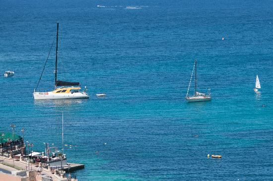 Le Meridien St. Julians: Plenty of water sports