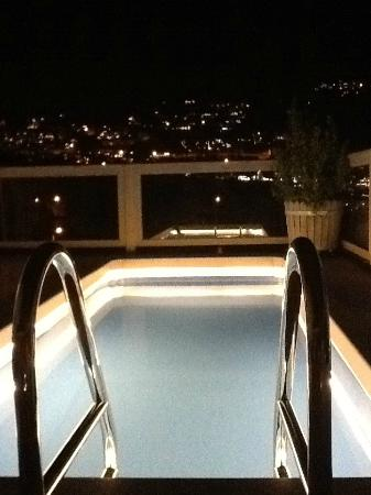 Likya Gardens Hotel Kalkan: Plunge pool at the penthouse