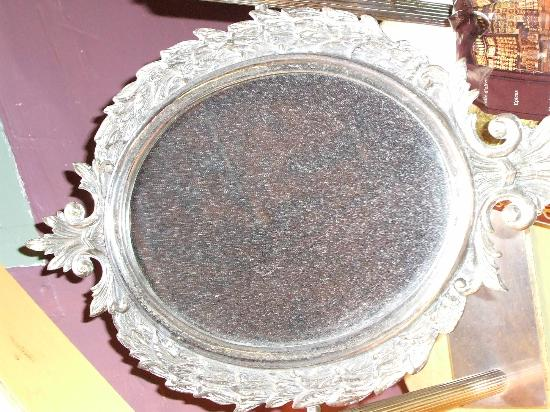 La Banasterie : Mirror last cleaned late in the 1880's
