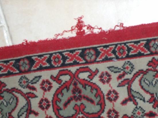 La Banasterie : Recently installed carpeting