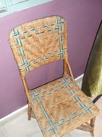 La Banasterie: Most comfortable chair in establishment 