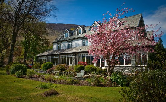 The Borrowdale Gates Hotel: View from the South