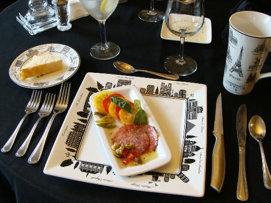 Greystone Manor: Delicious private dinner