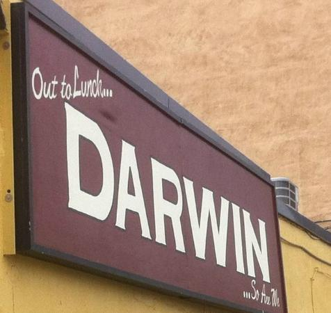 Darwin on Clinton : Darwin Sign