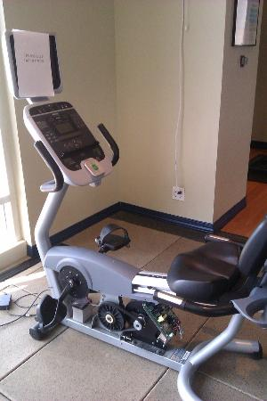 The Antlers A Wyndham Hotel: Inop Recumbant Bike