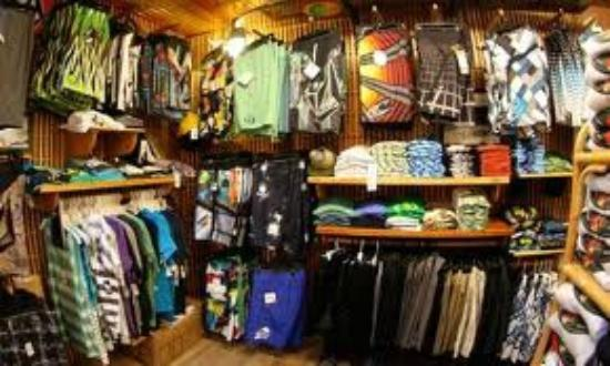 Malibu's Surf Shop: plenty of board shorts