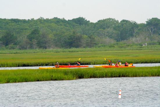 Yarmouth, MA: Kayaking near Red Jacket Beach Resport