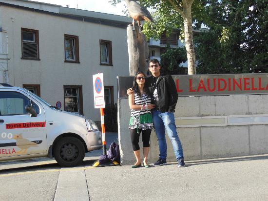 Outside Laudinella
