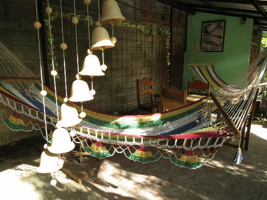 Guesthouse El Carmen : Breezy hammock chill spot