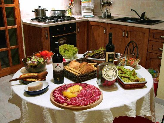 I Gerani: La Cucina