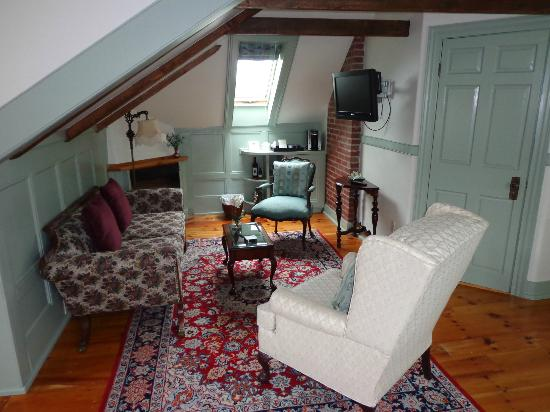 Mariner King Inn: Wohnzimmer