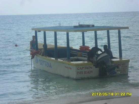 Roots Bamboo: Ask for Capt Ever Ready to take you snorkeling and to Rick's Cafe