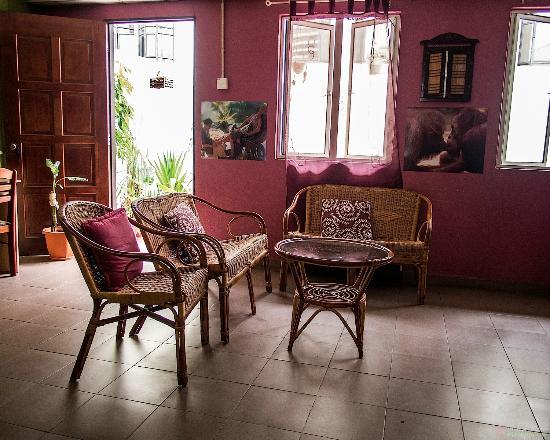 Serai Inn: The common room