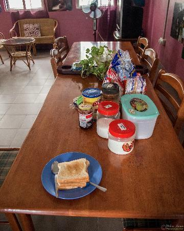 Serai Inn: Bread, Jam, Margerine etc. for Breakfast