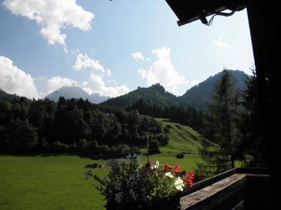 Pension Garni Waldrast: from window