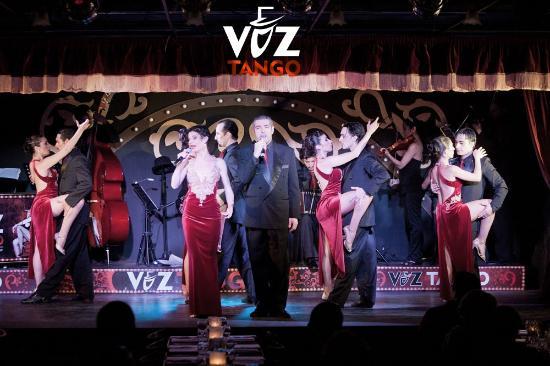 Voz Tango - Show Dinners
