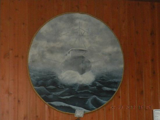 North Shore Grill : ship art