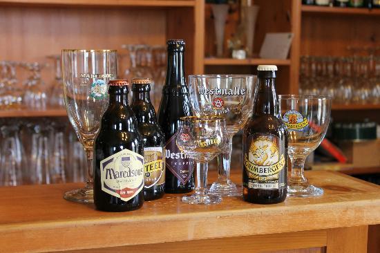 Auberge Chez Ignace: Bières Belges