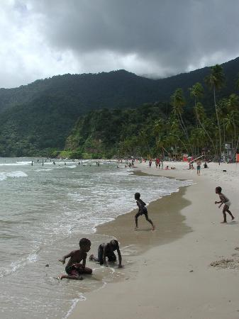 Maracas Bay : Good body surfing, particularly a day after a storm.