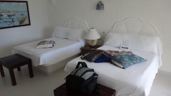 Hotel Akumal Caribe Villas Flamingo: 2nd bedroom