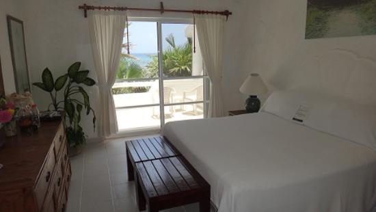 Hotel Akumal Caribe Villas Flamingo: Main bedroom