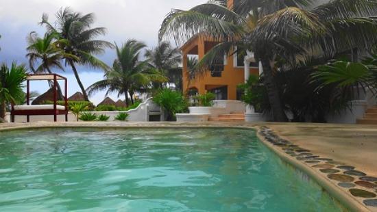 Hotel Akumal Caribe Villas Flamingo: Swimming pool