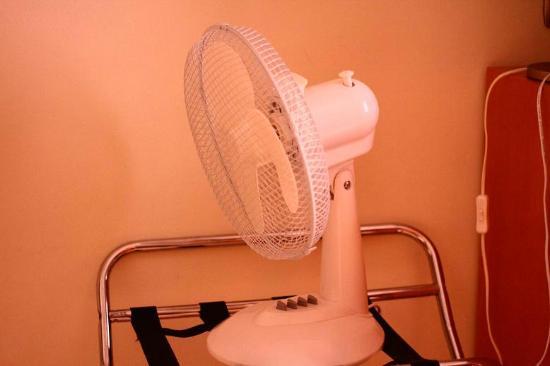 Hotel Principe Paz: ventilador