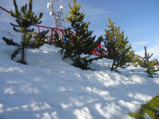 La Cascada Hotel: Cierro Oto estação de Ski pertinho do Hotel.