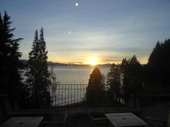 La Cascada Hotel: Alvorada as 09:58.