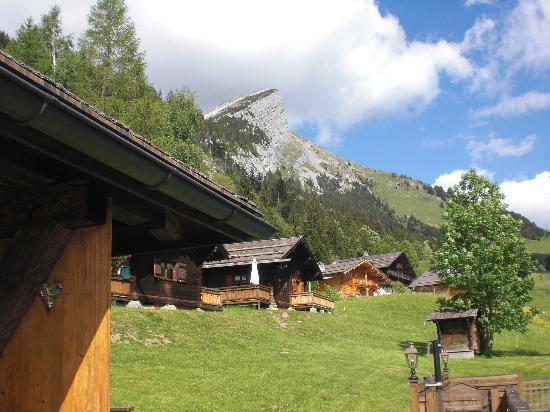 Les Chalets de la Serraz: Panorama