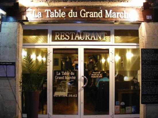 La Table du Grand Marché : Extérieur