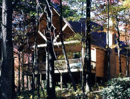 Hocking Hills Resort has 3 Cedar Vacation Homes for up to 9 guests, & 6 Love Bug cabins for coup
