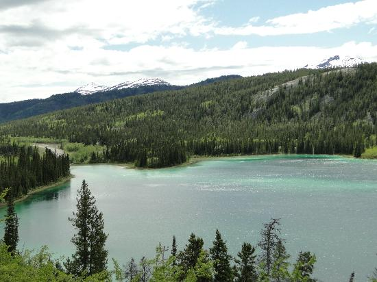 Emerald Lake: Looking south across the lake