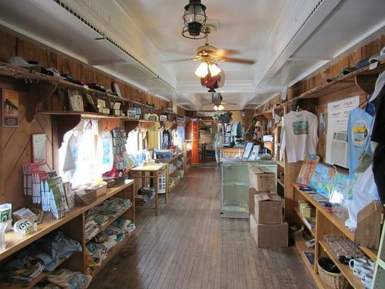 Inside The Old Train Car You Ll Find Books T Shirts And More