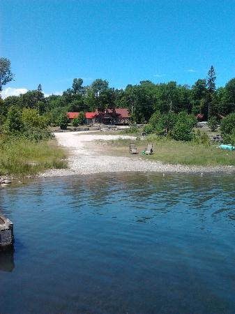 Silver Birches Resort: view from the dock