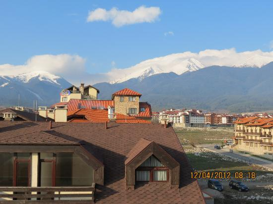 Pirin River Ski & Spa : view from the room