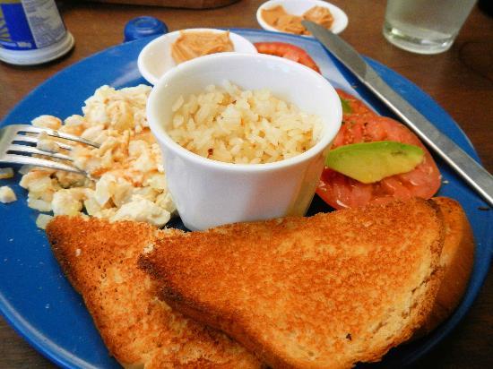 Organico: Todo el Mundo breakfast plate